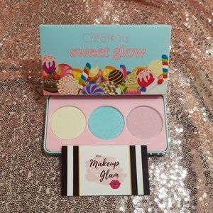 Sweet Glow Highlight Palette Makeup